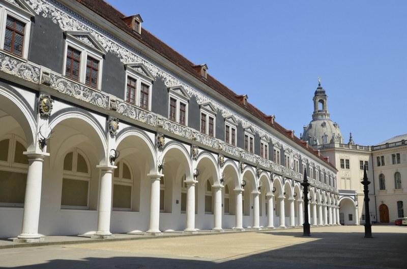 Arkadenhof im Stadtschloss, Dresden